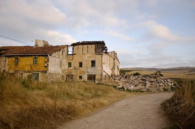 Maison démolie
