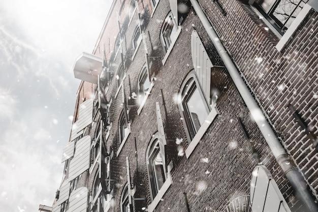 Maison du canal à amsterdam