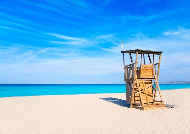 Maison de maître nageur de la plage de lment