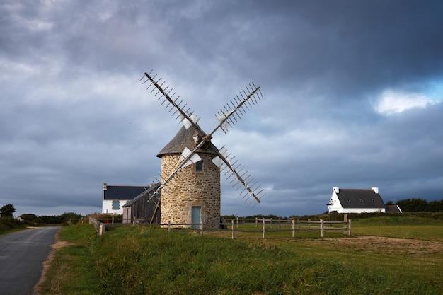 Maison moulin à vent