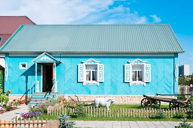 Maison-musée des tatars du village national d'orenbourg
