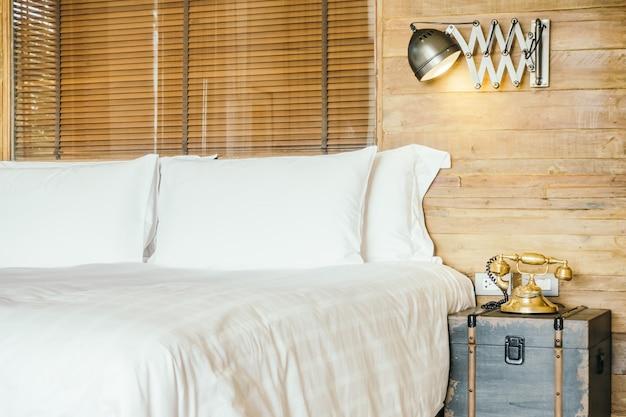 Maison oreiller hôtel luxueux de l'intérieur