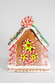 Maison en pain d'épice figure décoration de noël nouvel an mini figurine arbre de noël