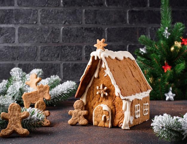 Maison en pain d'épice maison de noël