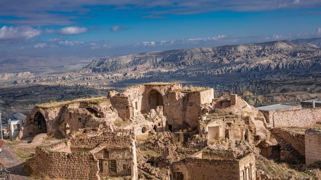 Maison en pierre en cappadoce, göreme, turquie
