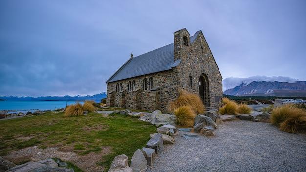 Maison en pierre en nouvelle-zélande