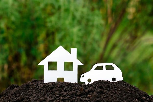 Maison et voiture