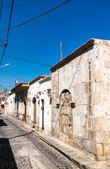 Maisons coloniales à arequipa pérou