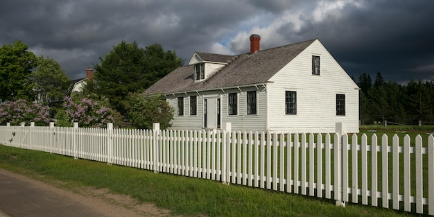 Maisons dans doaktown, new brunswick, canada