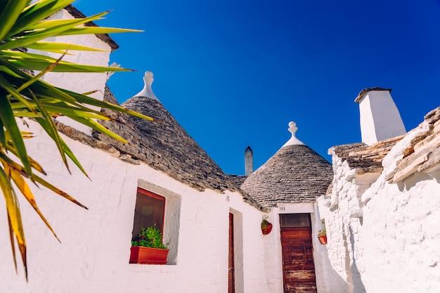 Maisons du touriste et célèbre ville italienne d'alberobello