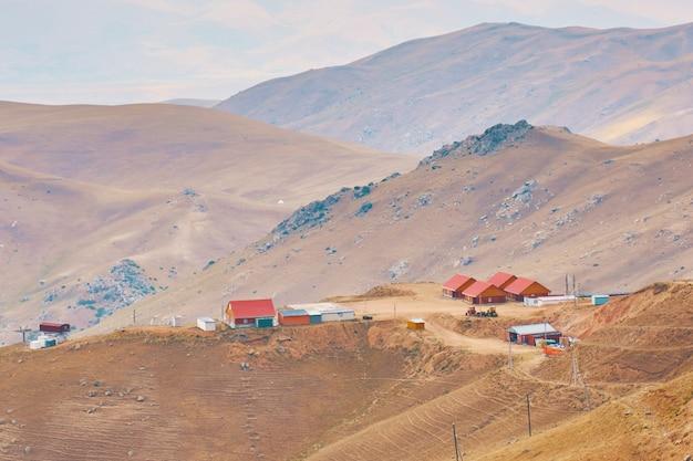 Maisons à la montagne.