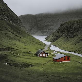 Maisons solitaires à saksun