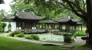 Maisons de style chinois à bangkok