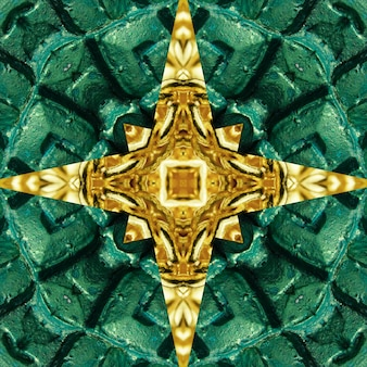 Mandala, kaléidoscope, abstrait de conception