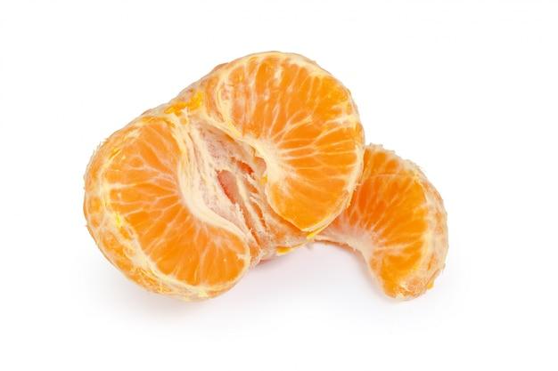 Mandarin isolé