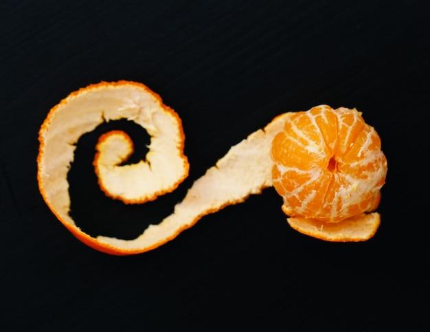 Mandarin sur la table