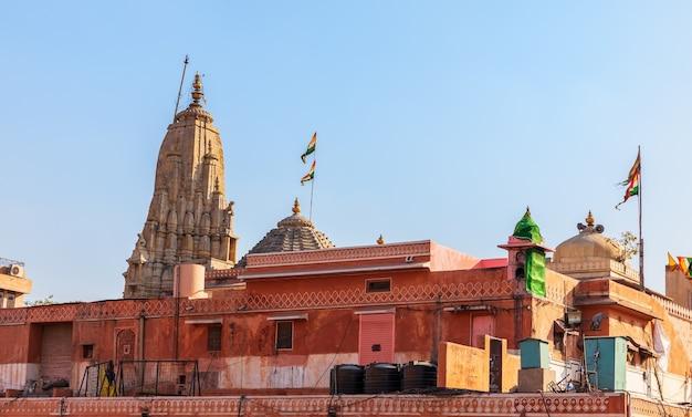 Mandir shree laxmi narayan ji bai ji temple, jaipur, inde.