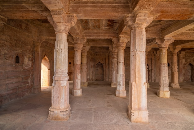 Mandu india, ruines afghanes du royaume de l'islam