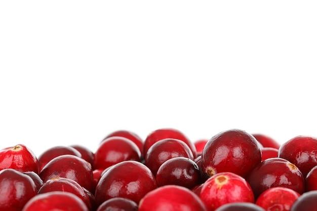 Manger des fruits aux canneberges diète des aliments frais