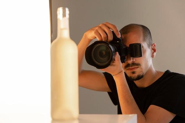Manière créative de photographier un produit