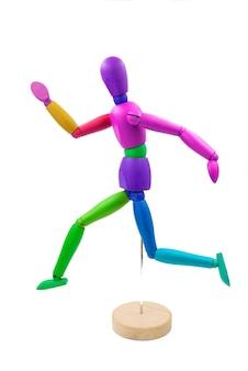 Mannequin classique avec différentes postures
