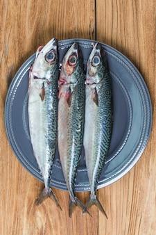 Maquereur de poisson frais
