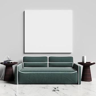 Maquette d'affiches sur le salon