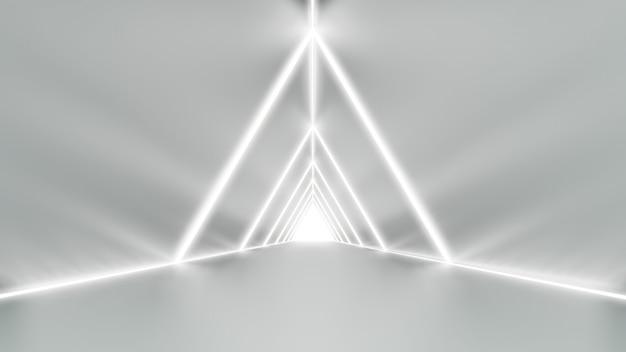 Maquette d'arrière-plan / toile de fond dans la conception d'illustration moderne minimale du style de voie pour le placement de produit