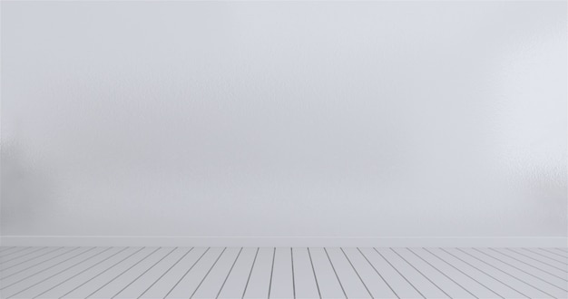 Maquette blanc mur blanc rendu 3d