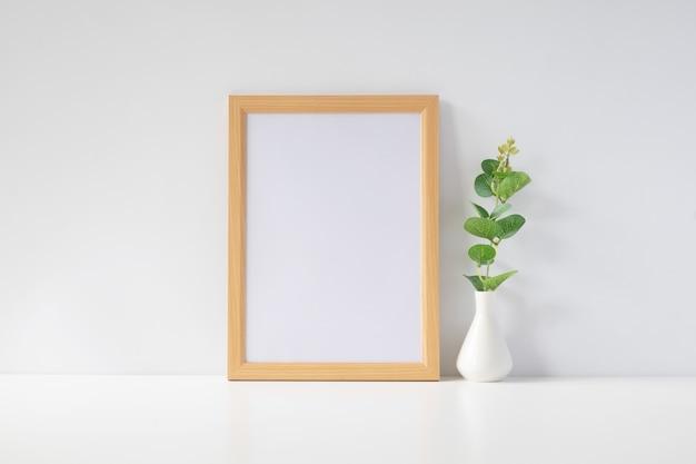 Maquette de cadre photo.