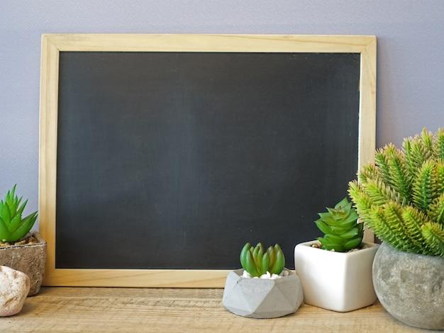 Maquette commission scolaire et cactus vert