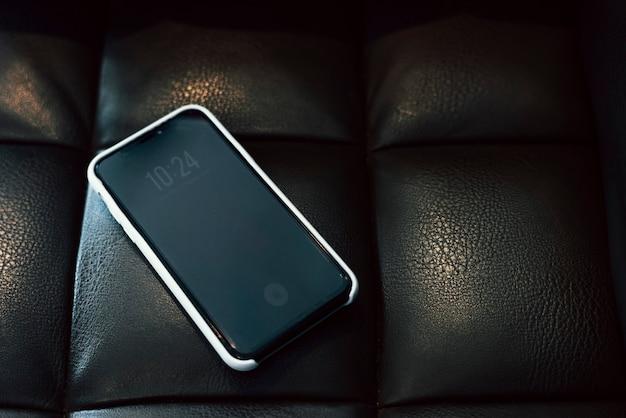 Maquette d'un écran de téléphone portable