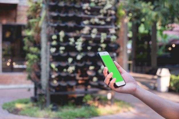 Maquette écran vert