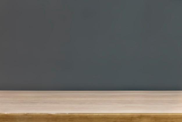 Maquette d'espace de copie d'étagère moderne sur fond simple b