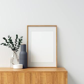 Maquette frame avec de belles décorations