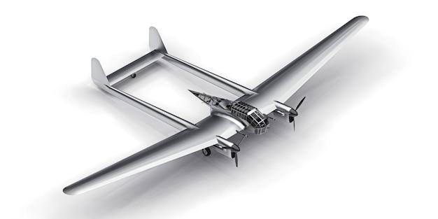 Maquette tridimensionnelle de l'avion bombardier de la seconde guerre mondiale
