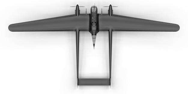 Maquette tridimensionnelle du bombardier de la seconde guerre mondiale