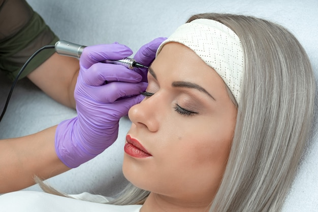 Maquillage permanent, micropigmentation.
