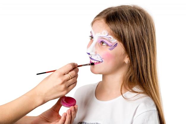 Maquillage pour fête d'anniversaire