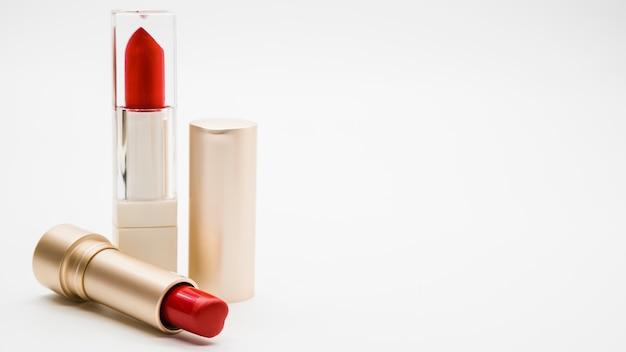 Maquillage de rouge à lèvres
