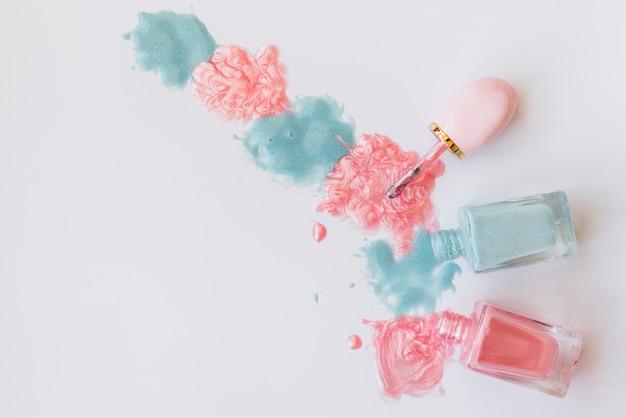 Maquillage de vernis à ongles