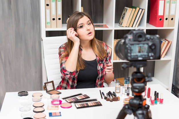 Maquillage vlogger