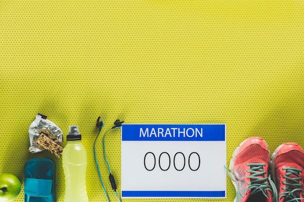 Marathon fournit la composition