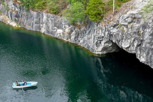 Marble canyon, inondé d'eau.