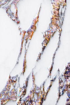 Marbre brun blanc texturé