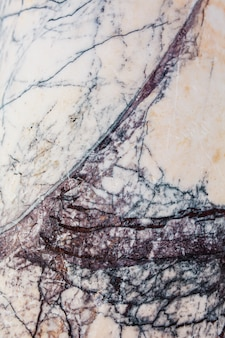 Marbre gris clair avec texture de pierre bleue fissurée