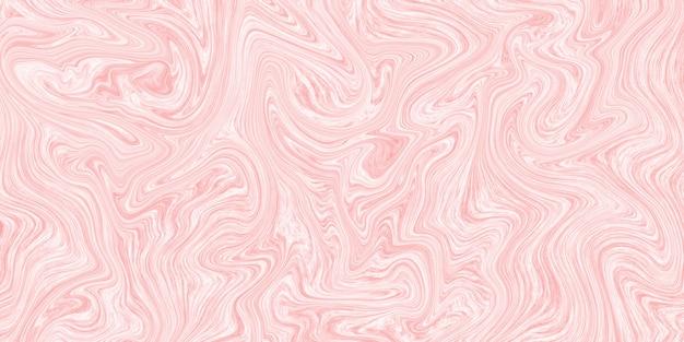 Marbre liquide créatif swirl texture fond rose