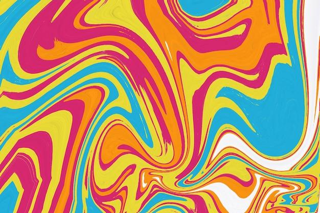Marbre texture marbre abstrait artistique coloré éclaboussure de peinture fluide coloré