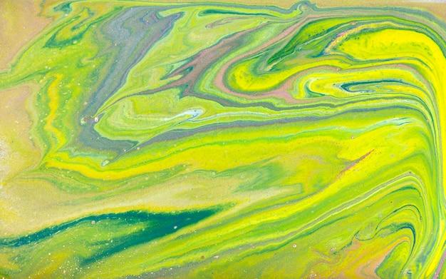 Marbrures jaunes et dorées, texture liquide en marbre doré.