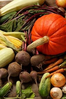 Marché aux légumes fermiers